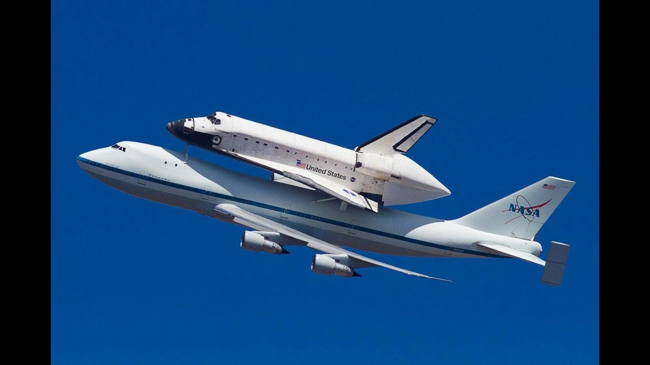 Space Shuttle Endeavour Flyover over Disneyland - YouTube |Space Shuttle Flyover