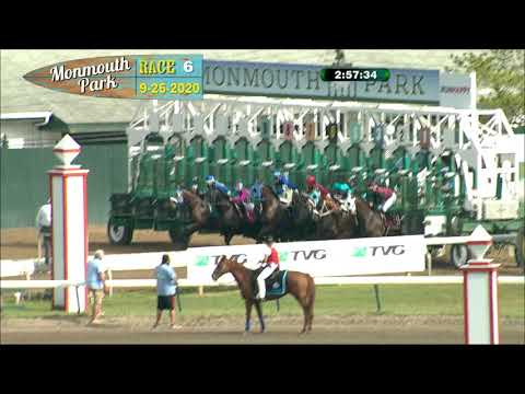 video thumbnail for MONMOUTH PARK 09-26-20 RACE 6