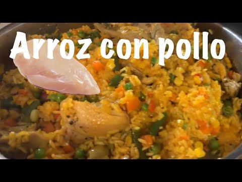 How To Make Arroz Con Pollo (Chicken N Rice)