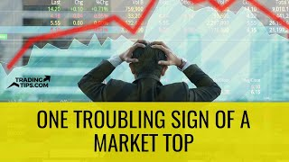One Troubling Sign of a Market Top - Beware of the Buyout