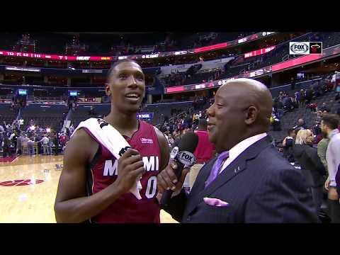 POSTGAME REACTION: Miami Heat at Washington Wizards 10/18/2018