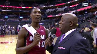 POSTGAME REACTION: Miami Heat at Washington Wizards 10/18/2018