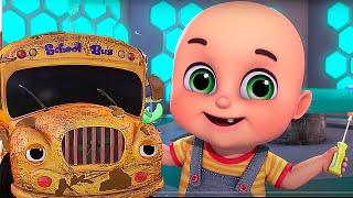 Wheels On The Bus | Learn ABCs & 123s | Baby Shark | Jugnu Kids Nursery Rhymes & Songs