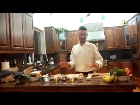 Organic Chef Andrew Diemer: steam appetizer part 1