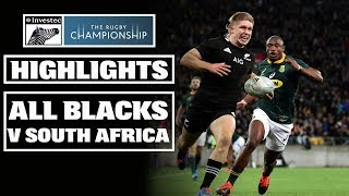 HIGHLIGHTS: All Blacks vs South Africa (Wellington)