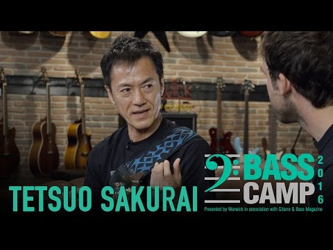 Bass Camp 2016 Interviews - TETSUO SAKURAI