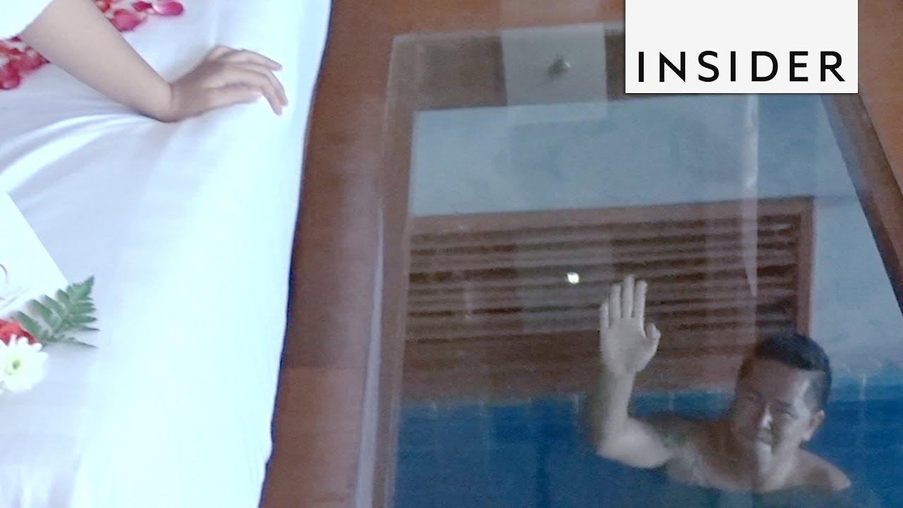 Хотелска соба со infinity базен наместо под