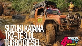 Suzuki Katana Jimny 1KZ-TE ikutan Offroad di Meratus Expedition