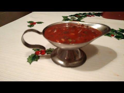 Как просто сделать самый вкусный соус для шашлыка и мяса,повар подскажет.