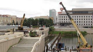 В Казани реконструируют набережную озера Кабан