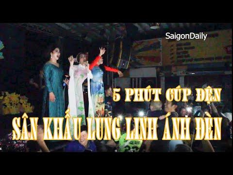 Lô tô show : Màn cúp điện ĐẸP LUNG LINH ở Đoàn Lô Tô Sài Gòn Tân Thời