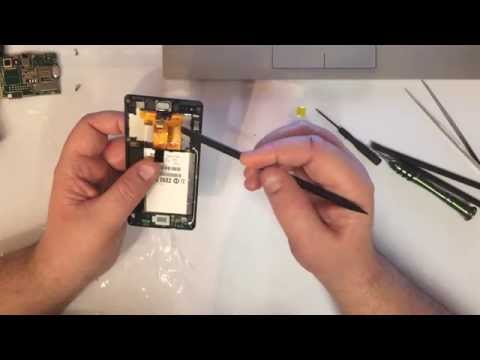 Sony Xperia M C1905 / C1904 Disassembly Take Apart Tear Down