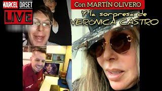 Ingresa Verónica Castro al Vivo de Marcel Daset con Martín Olivero
