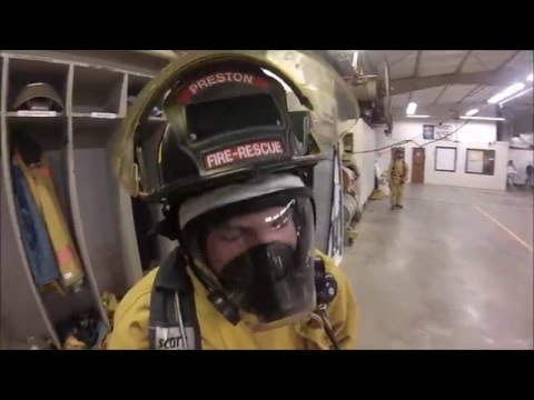 Preston Fire Dept. SCBA Dodgeball