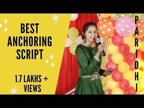 Best Anchoring Script For Sangeet Youtube