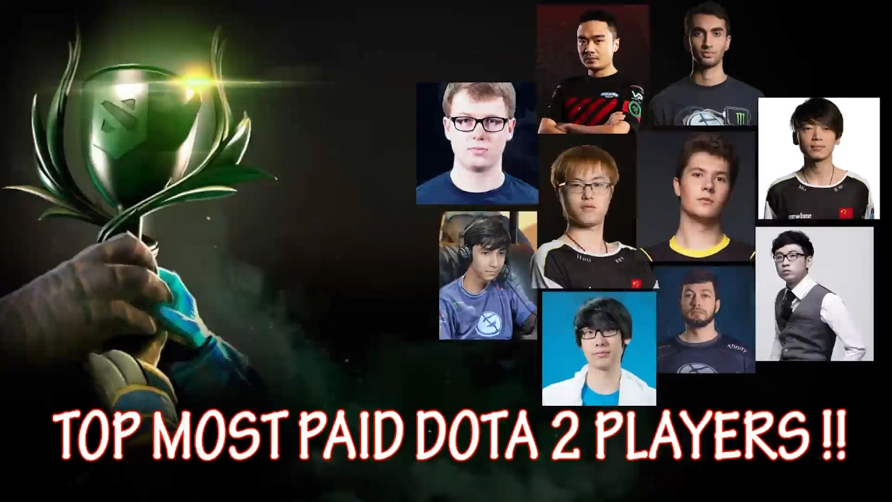 top 10 highest paid players in dota 2 number one might surprise
