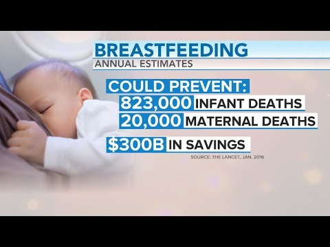 What are the health benefits of breastfeeding?