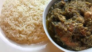 Liberian Eggplant Soup | step by step & tips | IBeeTheChef