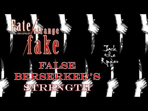 Fate Strange Fake | A Killer that Lacks A True Identity! False Berserker Jack the Ripper's Power