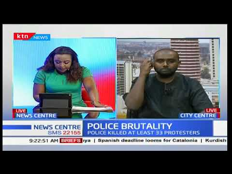 Amnesty International and Human Rights Watch releases report on Kenya Police Brutality