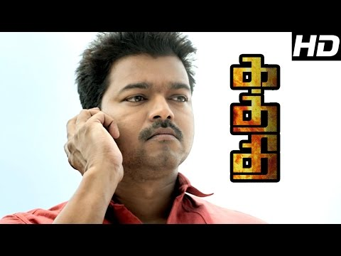 Kaththi   Kaththi full Movie Scenes   Vijay's Mistake has been exposed   Sathish scolds Old people