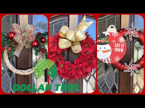 Christmas Wreath Ideas On A Small Budget (quick and easy wreath ideas 2019)