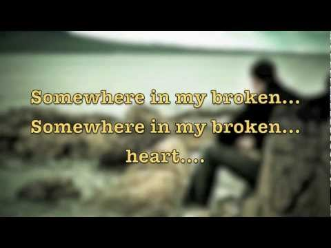 Billy Dean - Somewhere in my broken heart (with lyrics).flv