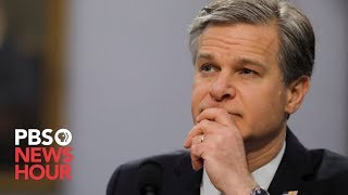 WATCH: FBI Director Wray faces questions from the Senate Judiciary Committee