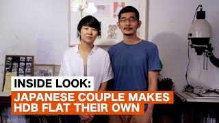 Japanese couple makes HDB flat their own