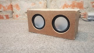 How to make a Mini Portable USB Speakers