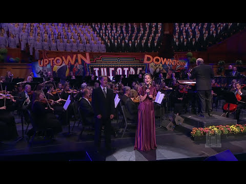 SeventySix Trombones, from The Music Man  The Mormon Tabernacle Choir with Laura Osnes