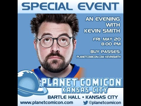 A Planet ComicCon Evening with Kevin Smith
