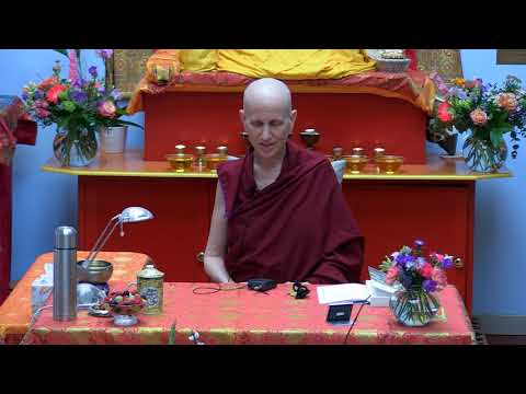 Ven. Thubten Chödron: Practical Ethics and Wisdom. Part 3/5: Meditation and Discussion