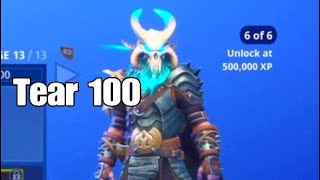 Fortnite Tear 100 skin Season 5