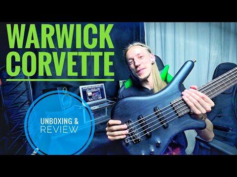 Warwick GPS Corvette 5 bass review