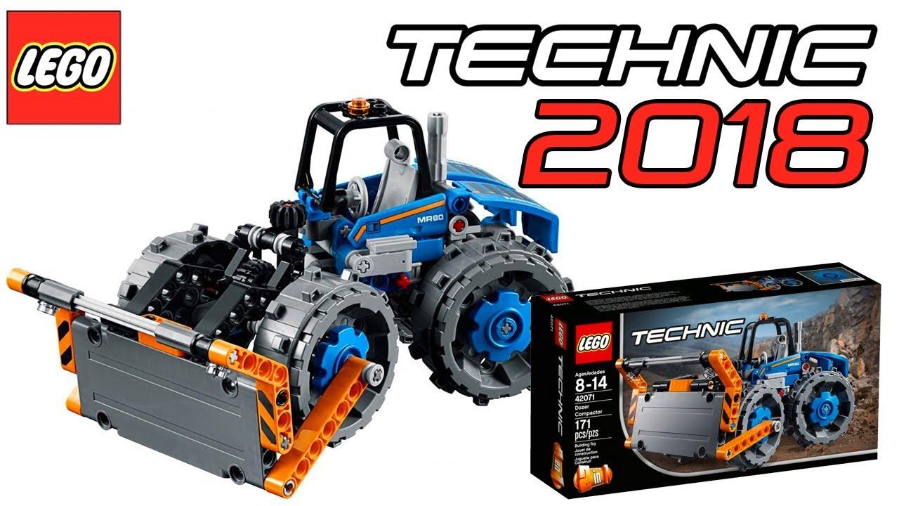 lego technic 2018 dozer compactor set 42071 official. Black Bedroom Furniture Sets. Home Design Ideas