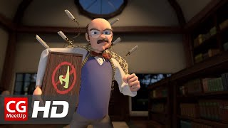 "CGI 3D Animation Short Film HD ""The Bookworm"" by Richard Wiley 