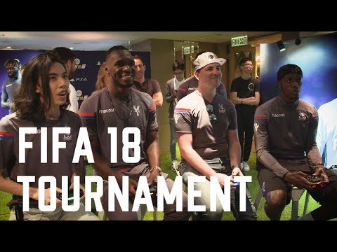 FIFA 18 Tournament | Crystal Palace vs Leicester City | Benteke, Zaha, Sako, Townsend