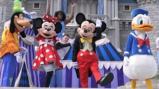 4K Dream Along With Mickey 2015 Magic Kingdom