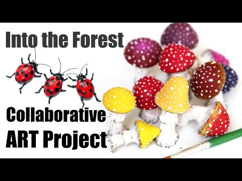 We need YOU! International Collaborative Art Project : Into the Forest