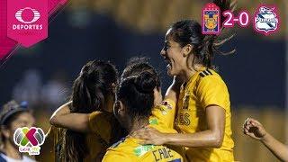 Tigres avanza a Semifinales | Tigres 2 - 0 Puebla | Liga MX Femenil - Cuartos | Televisa Deportes