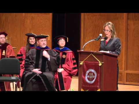 Master's Hooding Ceremony - Dec. 11, 2015