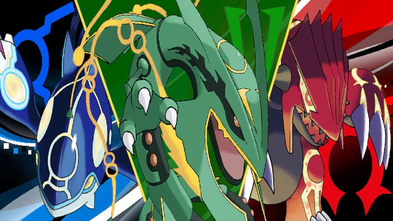 Kyogre and Groudon,Rayquaza (Pokemon) vs Naruto verse ...