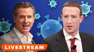Watch Mark Zuckerberg, Dr. Priscilla Chan and Gavin Newsom discuss the COVID-19 pandemic