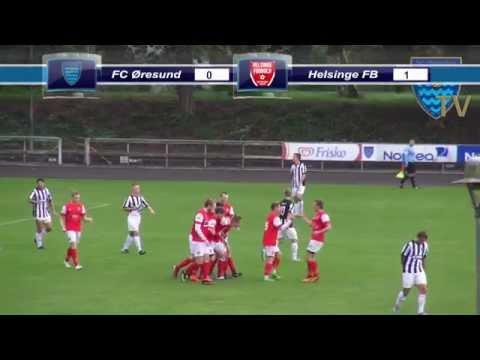 FC Øresund - Helsinge Fodbold - Sjællandsserien 2014/15