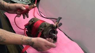 PS654 Winch Motor Test