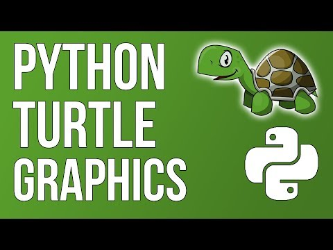 Complete Python Turtle Graphics Overview! (From Beginner To Advanced)