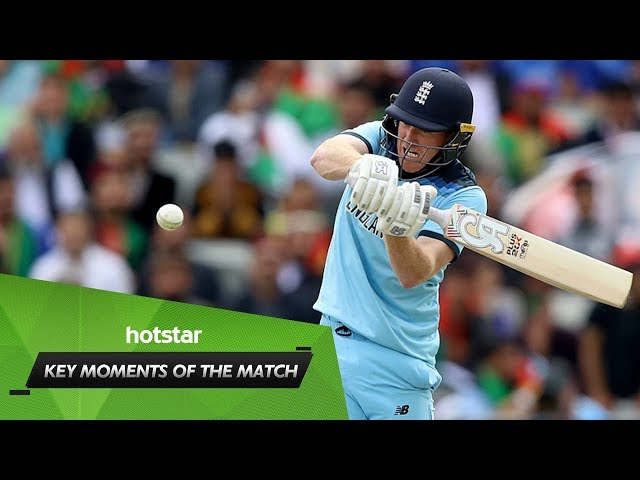 Moments of the match feat. Morgan's 17 sixes