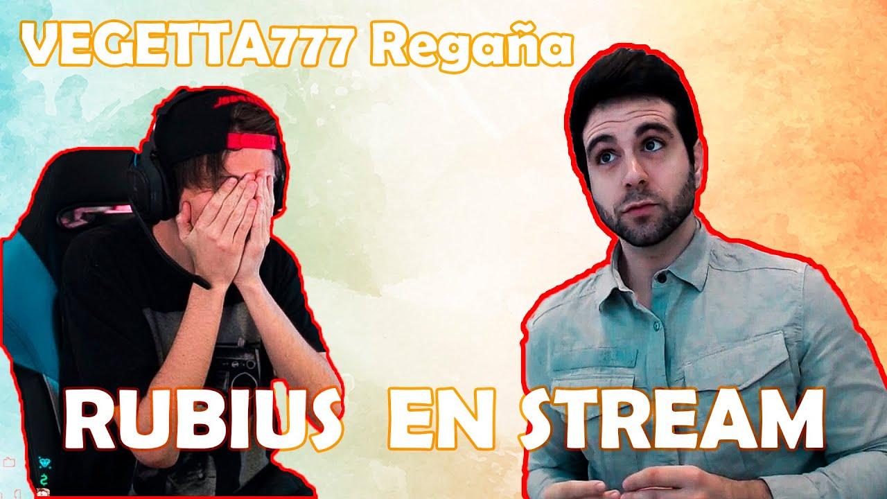 VEGUETTA777 Regaña a RUBIUS 😤 en STREAM - ilegalismo 😱
