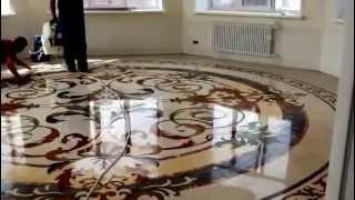 Полировка мрамора  StoneParadise(Шлифовка, кристаллизация и полировка мраморных полов, стен, колонн, а также рельефных каменных поверхносте..., 2014-07-08T08:48:34.000Z)